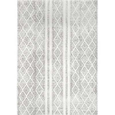 Keagan Gray/Cream Area Rug - 9' x 12' - Wayfair