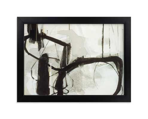 """abstract untitled 1 - classic black frame 7"""" x 5"""" - Minted"""