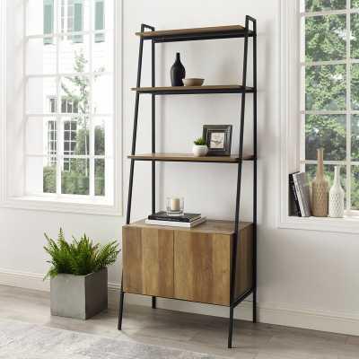 Caldwell Ladder Bookcase - Reclaimed Barnwood - Wayfair