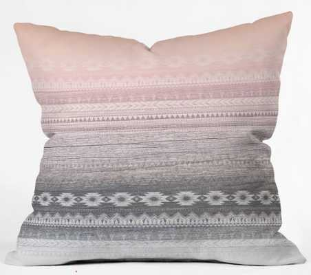 """Sunset Valley Throw Pillow - 18""""x18"""", includes insert - Wander Print Co."""
