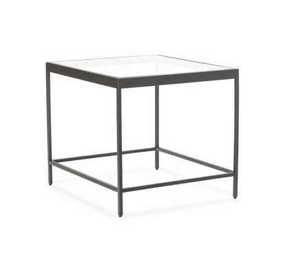 VIENNA SIDE TABLE - PEWTER - Mitchell Gold + Bob Williams