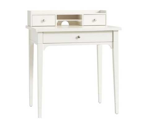 Morgan Simple Desk, Simply White, Standard UPS Delivery - Pottery Barn Kids