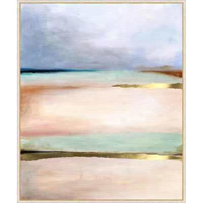 'PASTEL ABSTRACT I' FRAMED GRAPHIC ART PRINT ON CANVAS - Perigold