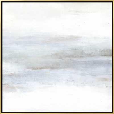 "Cape Horizon II, 25"" x 25"" Stretched Canvas Print, Canvas Gold and Black - art.com"