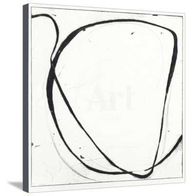 "Big Swirl 1 - Unframed Canvas (Finished Size: 32"" x 33"") - art.com"