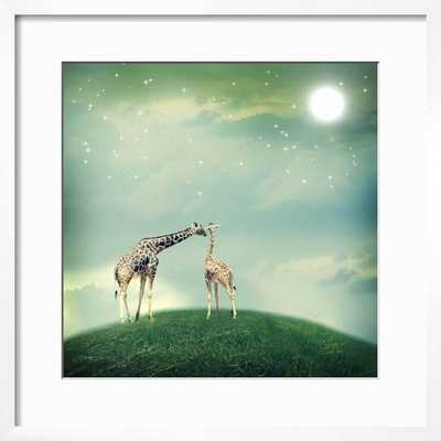 Giraffes in Friendship - art.com