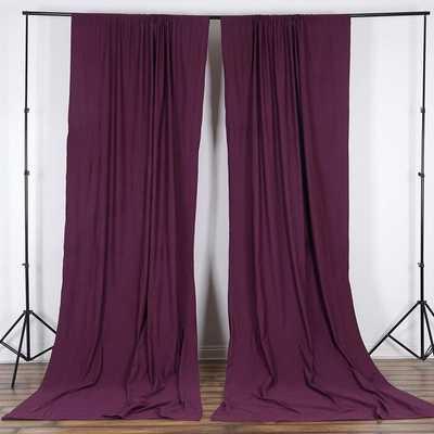 Antion Solid Room Darkening Outdoor Rod Pocket Single Curtain Panel - Wayfair