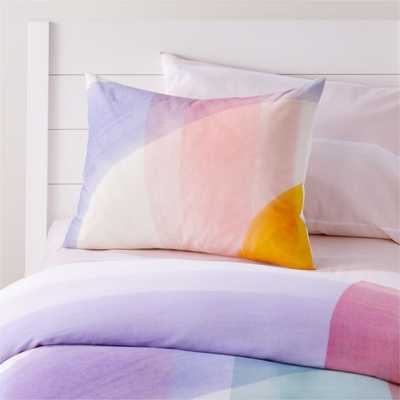 Brushstroke Pillow Sham - Crate and Barrel