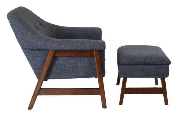 Flynton Lounge Chair and Ottoman - Wayfair