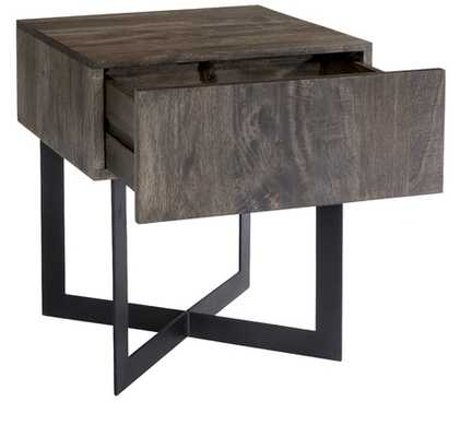 ELEXIE SIDE TABLE, NATURAL - Lulu and Georgia