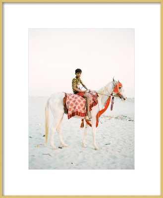 Boy on Horse - Artfully Walls