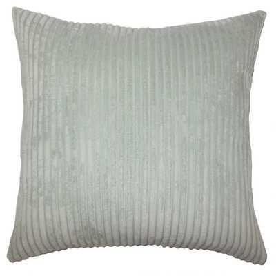 Calvine Solid Pillow Aquamarine -12 x 18 - Linen & Seam