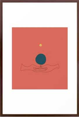 Dhyana Mudra Framed Art Print - Society6