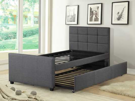 Algrenon Twin Platform Bed with Trundle - AllModern