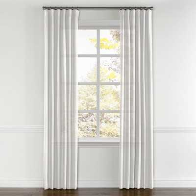 Convertible Drapery  Linen Sheer - White - Loom Decor