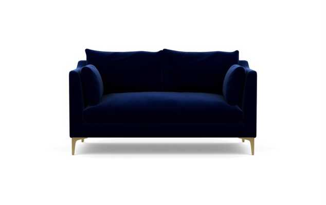CAITLIN BY THE EVERYGIRL Apartment Sofa - Brass Plated L Leg - Interior Define