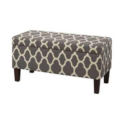 Clare Tokatli Upholstered Storage Bench - Wayfair