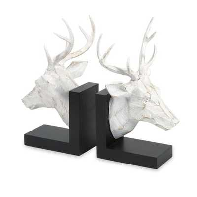 Joseph Deer Bookends - Set of 2 - Mercer Collection