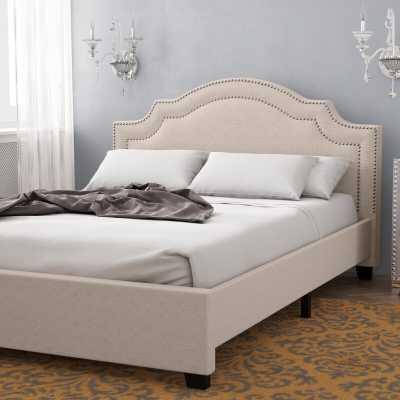 Avanley Upholstered Panel Bed - Wayfair