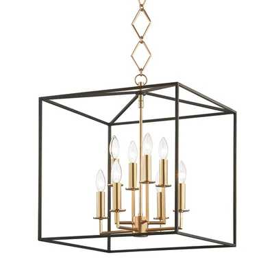 BECKI OWENS FOR HUDSON VALLEY LIGHTING RICHIE PENDANT, AGED BRASS - Lulu and Georgia