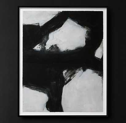 ABSTRACT INK STUDIES 1 - LARGE - RH Modern
