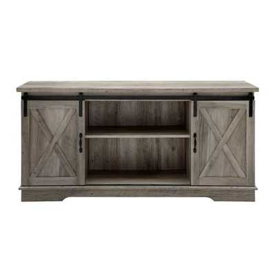 "Tova TV Stand for TVs up to 65"" - Gray Wash - Wayfair"