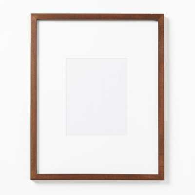 "Gallery Frames, Dark Walnut, 15""x19"" - West Elm"