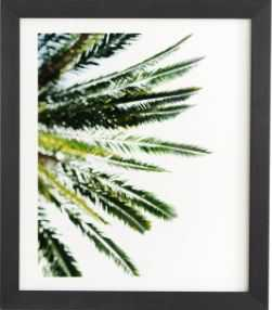 "BEVERLY HILLS PALM TREE Framed Wall Art, 11"" x 13"" - Wander Print Co."