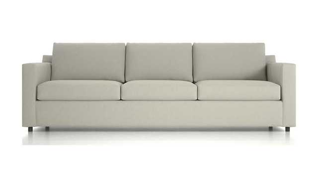 "Barrett 103"" 3-Seat Grande Track Arm Sofa - Crate and Barrel"