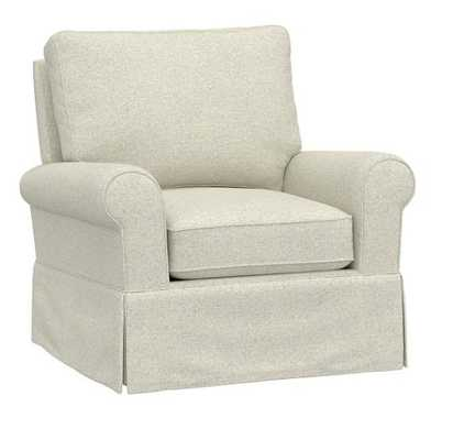 PB Kids® Comfort Swivel Glider & Ottoman - Pottery Barn Kids