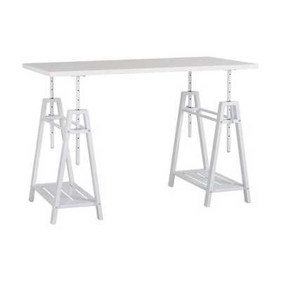 Woodley Height Adjustable Standing Desk - Wayfair