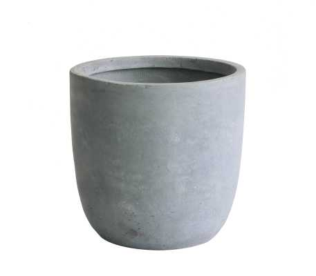 Modern Concrete Pot Planter - Wayfair