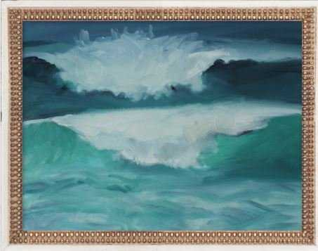 "California Coast Waves, 18.5x14.5"" - Artfully Walls"