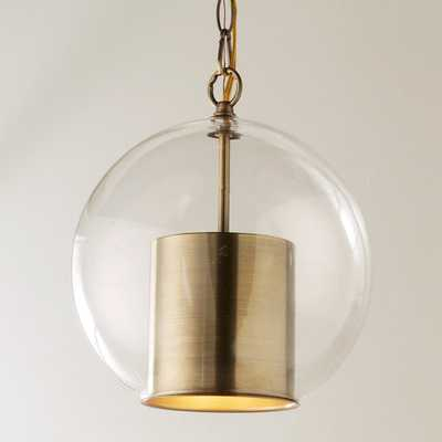 CAP AND GLOBE PENDANT - Shades of Light