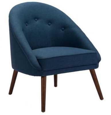 Carter Occasional Chair Cobalt Blue - Zuri Studios