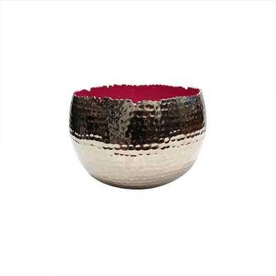 Holi Large Pink Bowl - Koa Artisans