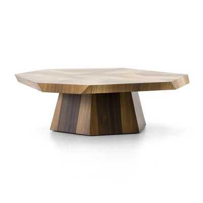 Brooklyn Blonde Yukas Geometric Coffee Table - Crate and Barrel