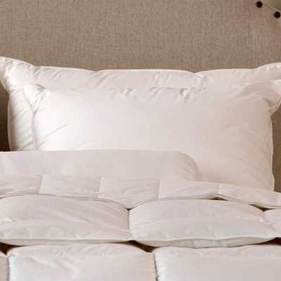 Down To Earth® 80/20 Compartmented Pillow - KG - Noble Feather Co.