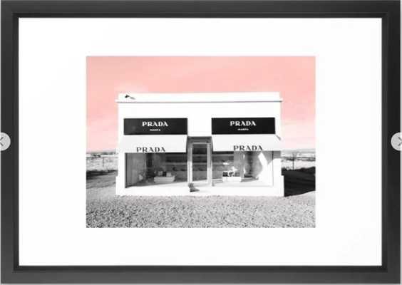 marfa Framed Art Print - Society6