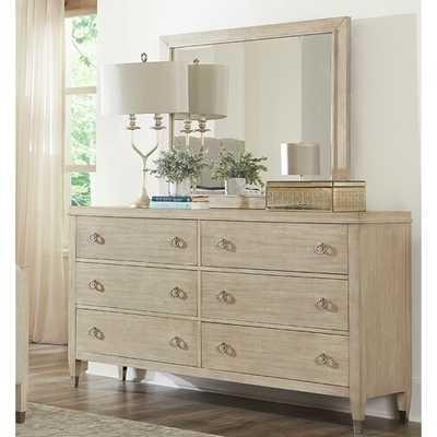 Sausalito 6 Drawer Dresser with Mirror - Wayfair