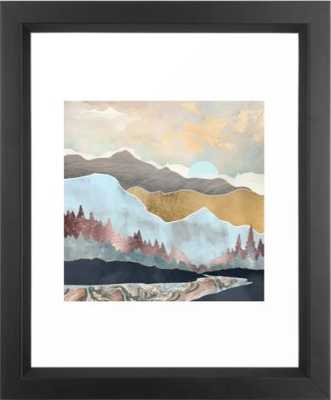 Winter Light Framed Art Print by SpaceFrogDesigns - Wander Print Co.
