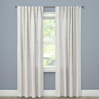 Honeycomb Woven Curtain Panels, 84 - Target