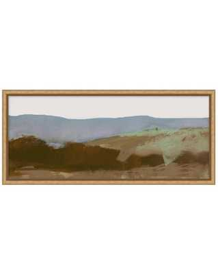 ABSTRACT LANDSCAPE 1 Framed Art - Small - McGee & Co.