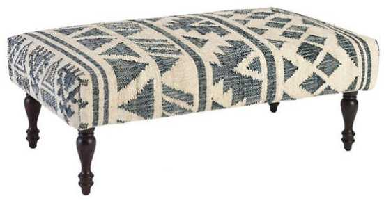 LURU RUG OTTOMAN - Rectangle - Dash and Albert