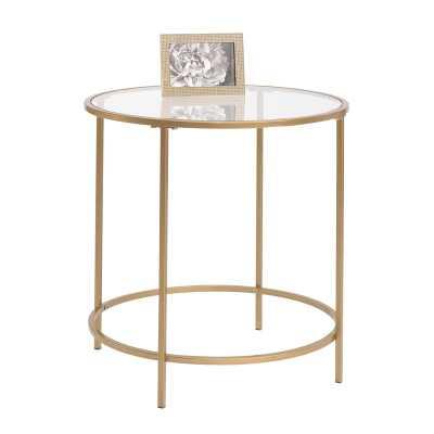 Deford End Table / Gold - AllModern