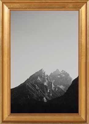 """Chasing Light- 10"""" x 14""""- Matte Black Metal Frame - Artfully Walls"""
