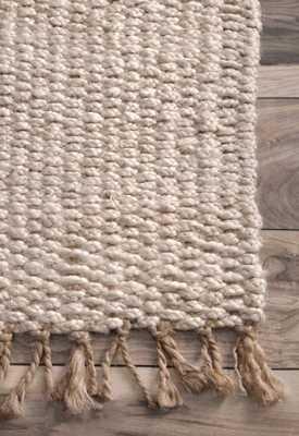 Handmade Benavides Tassel Rug - Loom 23