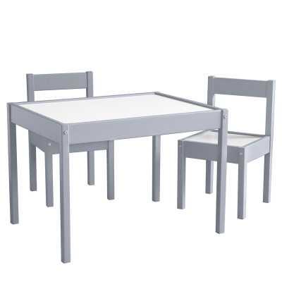 Alys Kids 3 Piece Rectangular Writing Table and Chair Set - Wayfair