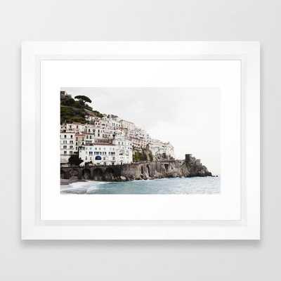 "Amalfi Coast - 10"" x 12"" - Society6"