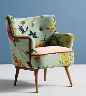 Floret Petite Accent Chair - Anthropologie